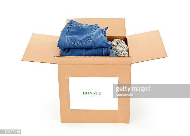 Kleidung zu spenden