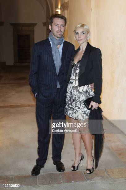 Clotilde Courau and husband Prince Emanuele Filiberto of Savoy attend the fourth day of the 14th Annual Capri Hollywood International Film Festival...