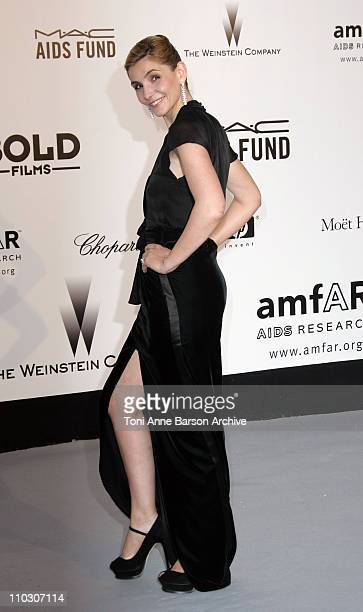 Clotilde Courau at amfAR's Cinema Against AIDS event presented by Bold Films the M*A*C AIDS Fund and The Weinstein Company to benefit amfAR