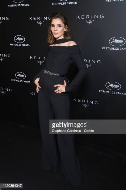 Clotilde Courau at Place de la Castre on May 19, 2019 in Cannes, France.