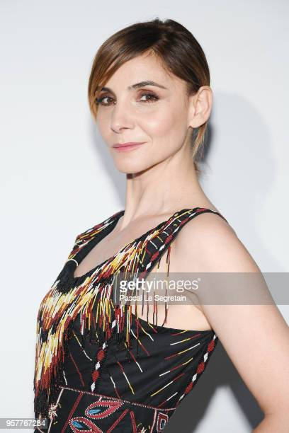 Clotilde Courau attends a Dior dinner during the 71st annual Cannes Film Festival at JW Marriott on May 12 2018 in Cannes France