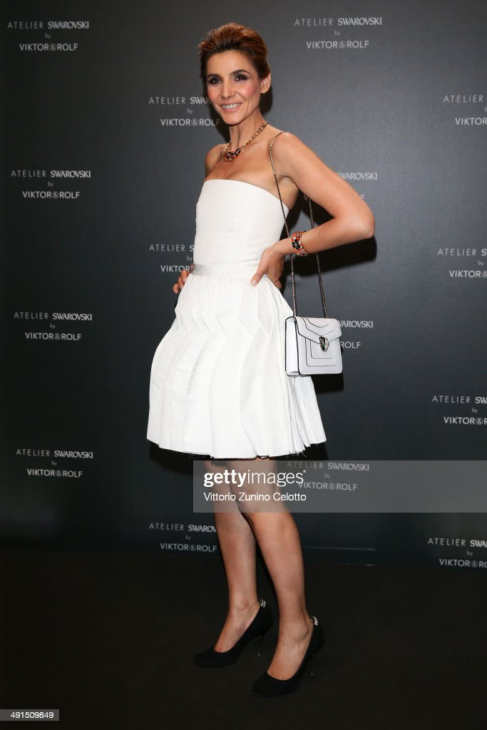 Clotilde Courau attends a party hosted by Swarovski and Viktor & Rolf during the 67th Annual Cannes Film Festival on May 16, 2014 in Cannes, France.