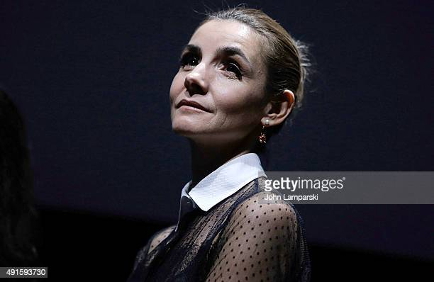 Clotilde Courau attends In The Shadow Of Women QA during 53rd New York Film Festival at Alice Tully Hall Lincoln Center on October 6 2015 in New York...