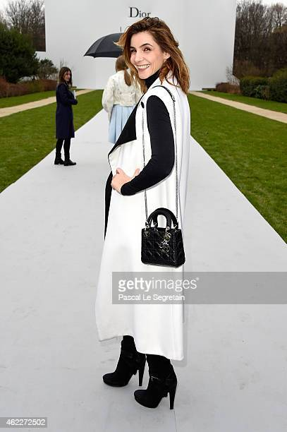 Clotilde Courau attends the Christian Dior show as part of Paris Fashion Week Haute Couture Spring/Summer 2015 on January 26 2015 in Paris France