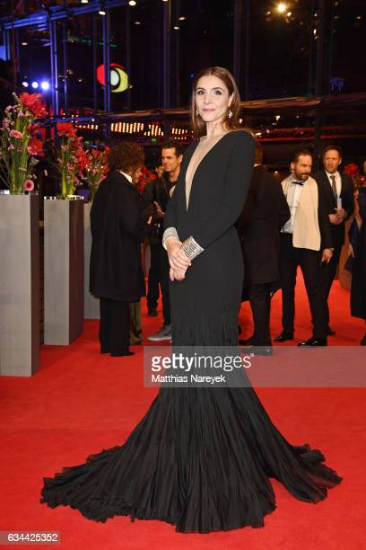 Clotilde Courau attends the 'Django' premiere during the 67th Berlinale International Film Festival Berlin at Berlinale Palace on February 9, 2017 in...