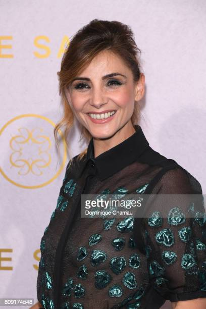 Clotilde Courau attends the Elie Saab Haute Couture Fall/Winter 2017-2018 show as part of Paris Fashion Week on July 5, 2017 in Paris, France.