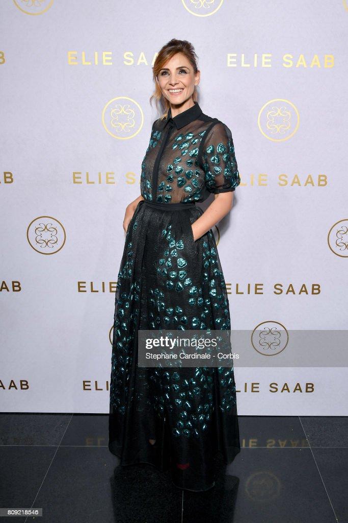 Elie Saab : Front Row - Paris Fashion Week - Haute Couture Fall/Winter 2017-2018 : News Photo