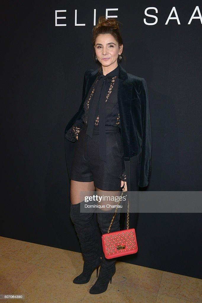 Elie Saab : Front Row - Paris Fashion Week - Haute Couture Spring Summer 2016 : News Photo