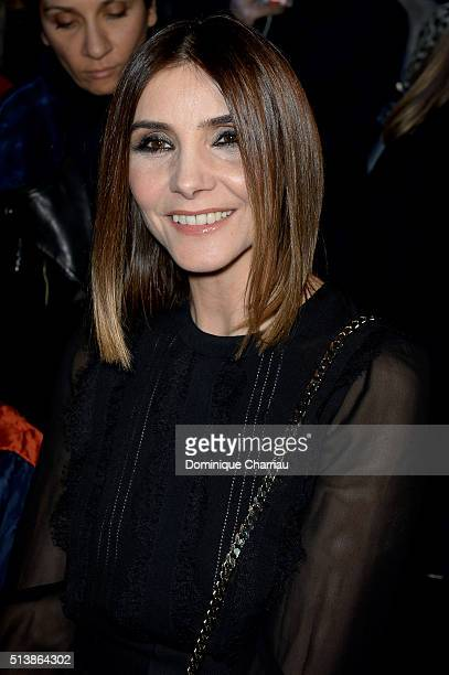 Clotilde Courau attends the Elie Saab show as part of the Paris Fashion Week Womenswear Fall/Winter 2016/2017 on March 5 2016 in Paris France