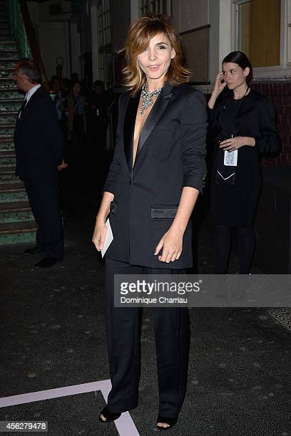 Clotilde Courau attends the Givenchy show as part of the Paris Fashion Week Womenswear Spring/Summer 2015 on September 28 2014 in Paris France