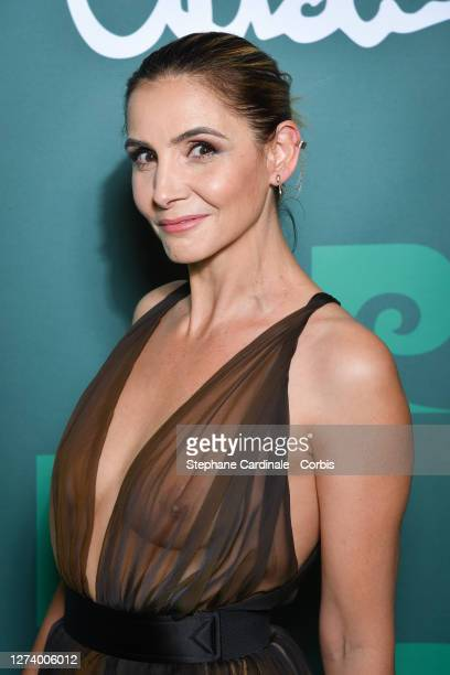 "Clotilde Courau attends the ""House Of Cardin"" Special Screening At Theatre Du Chatelet on September 21, 2020 in Paris, France."
