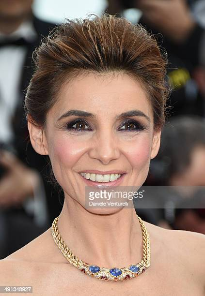 "Clotilde Courau attends the ""How To Train Your Dragon 2"" Premiere at the 67th Annual Cannes Film Festival on May 16, 2014 in Cannes, France."