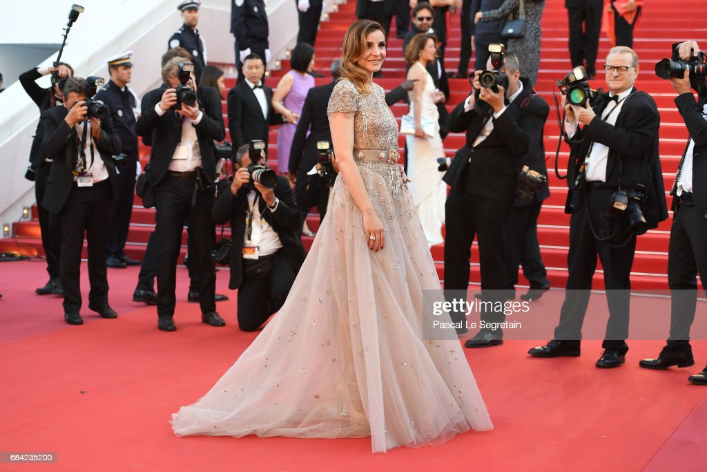 Clotilde Courau attends the 'Ismael's Ghosts (Les Fantomes d'Ismael)' screening and Opening Gala during the 70th annual Cannes Film Festival at Palais des Festivals on May 17, 2017 in Cannes, France.