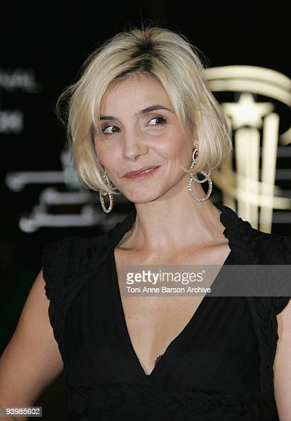 Clotilde Courau attends the John Rabe premiere at the 9th Marrakesh Film Festival at the Palais des Congres on December 4, 2009 in Marrakech, Morocco.