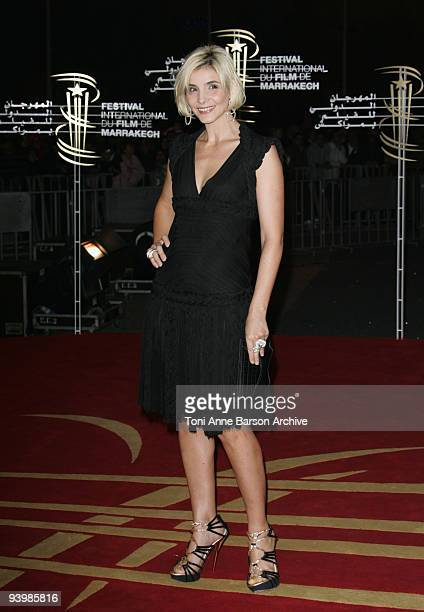 Clotilde Courau attends the John Rabe premiere at the 9th Marrakesh Film Festival at the Palais des Congres on December 4 2009 in Marrakech Morocco