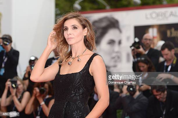 Clotilde Courau attends the opening ceremony and premiere of 'Everest' during the 72nd Venice Film Festival on September 2, 2015 in Venice, Italy.