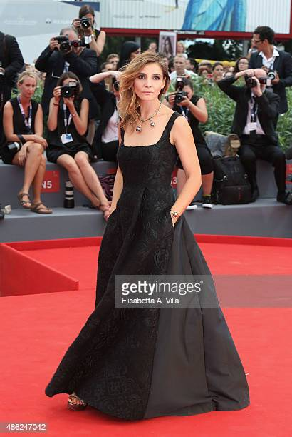 Clotilde Courau attends the opening ceremony and premiere of 'Everest' during the 72nd Venice Film Festival on September 2 2015 in Venice Italy