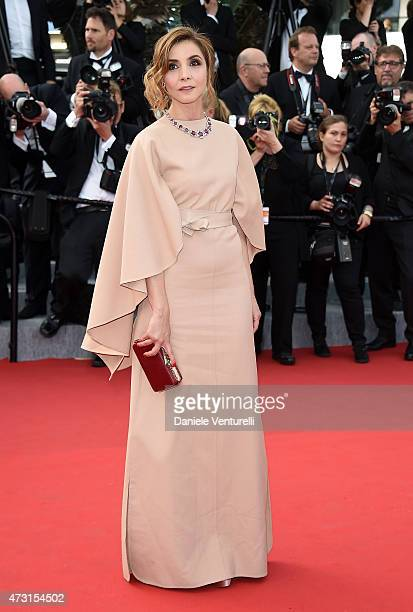 Clotilde Courau attends the opening ceremony and premiere of La Tete Haute during the 68th annual Cannes Film Festival on May 13 2015 in Cannes France