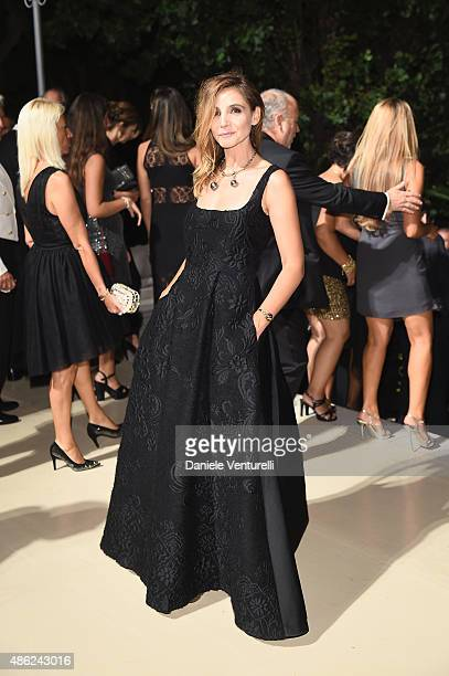 Clotilde Courau attends the opening dinner during the 72nd Venice Film Festival on September 2, 2015 in Venice, Italy.