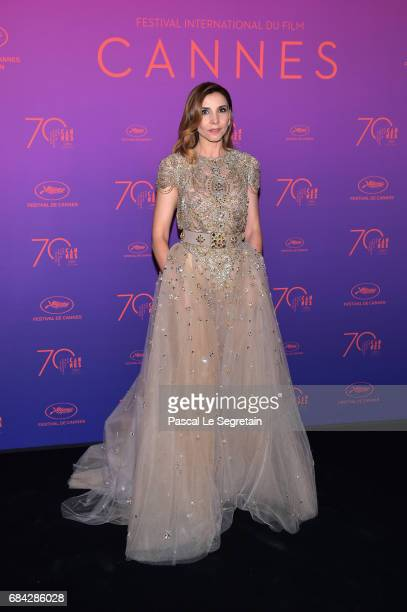 Clotilde Courau attends the Opening Gala dinner during the 70th annual Cannes Film Festival at Palais des Festivals on May 17 2017 in Cannes France