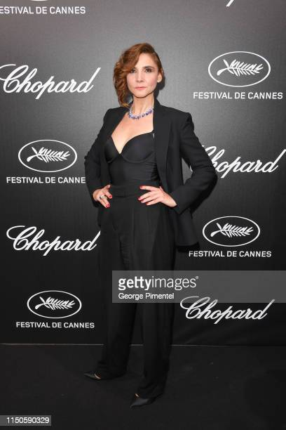Clotilde Courau attends the The Chopard Trophy event during the 72nd annual Cannes Film Festival on May 20, 2019 in Cannes, France.