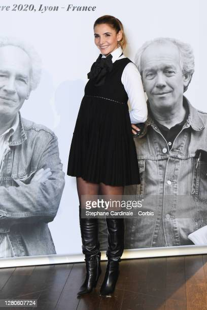 Clotilde Courau attends the tribute to the brothers Jean-Pierre Dardenne and Luc Dardenne at the 12th Film Festival Lumiere In Lyon on October 16,...