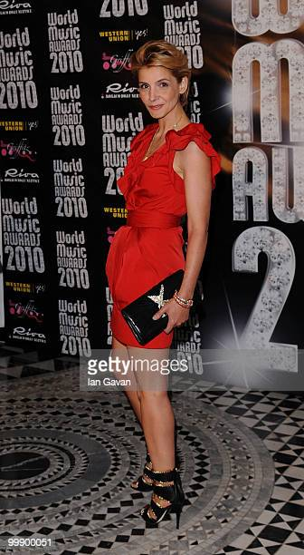 Clotilde Courau attends the World Music Awards 2010 at the Sporting Club on May 18 2010 in Monte Carlo Monaco