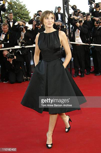Clotilde Courau during 2003 Cannes Film Festival Tulse Luper Suitcases Premiere at Palais des Festivals in Cannes France