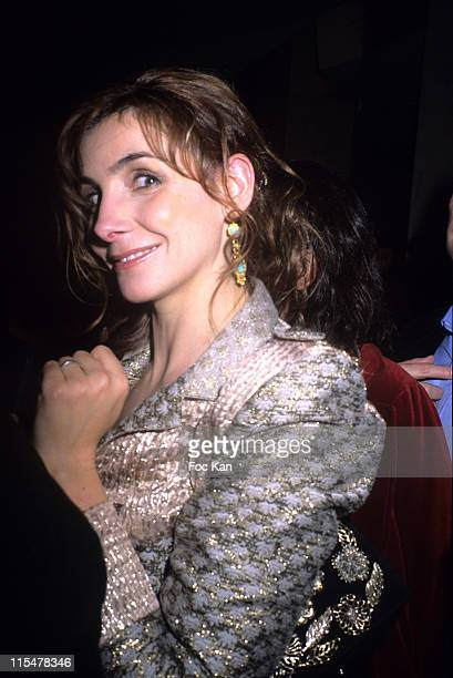 Clotilde Courau during La Mome Paris Premiere After Party at Club de l Etoile in Paris France