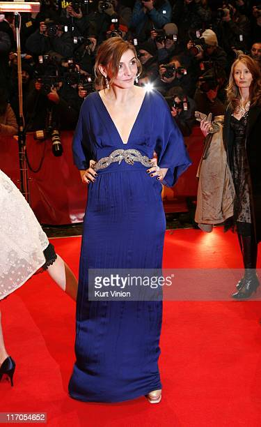 """Clotilde Courau during The 57th Annual Berlinale International Film Festival - Opening Ceremony and """"La Vie en Rose"""" Premiere in Berlin, Germany."""