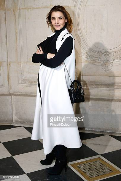 Clotilde Courau, Princess of Savoy attends the Christian Dior show as part of Paris Fashion Week Haute Couture Spring/Summer 2015 on January 26, 2015...