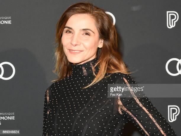 Clotilde Coureau attends Celebration Of Gabriel Yared's Film Music At The Philharmonie De Paris on December 9 2017 in Paris France
