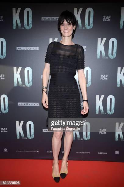 Clotilde Hesme attends KO Premiere at Gaumont Capucines on June 9 2017 in Paris France
