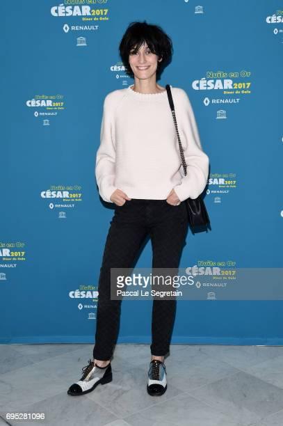 Clotilde Hesme attends 'Les Nuits en Or 2017' Dinner Gala on June 12 2017 in Paris France