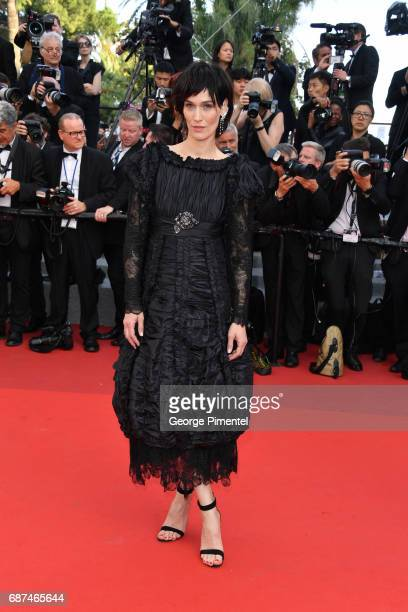 Clotilde Hesme attends the 70th Anniversary screening during the 70th annual Cannes Film Festival at Palais des Festivals on May 23 2017 in Cannes...
