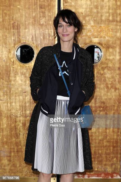 Clotilde Hesme attends the Agnes B show as part of the Paris Fashion Week Womenswear Fall/Winter 2018/2019 on March 5 2018 in Paris France