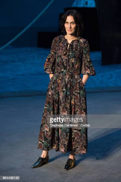 Clotilde Hesme attends the Chanel Cruise 2018/2019 Collection at Le Grand Palais on May 3 2018 in Paris France