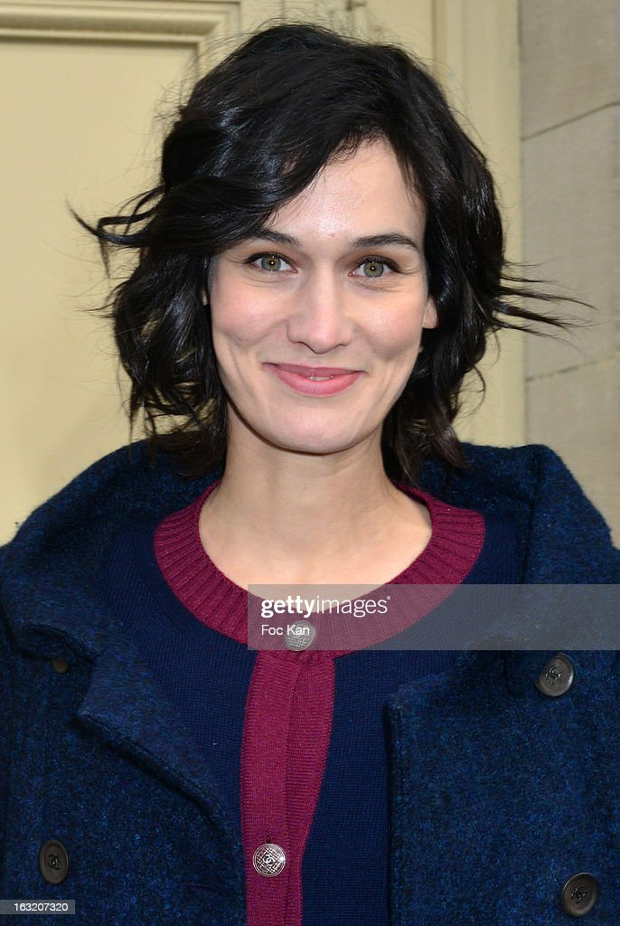 Clotilde Hesme attends the Chanel Fall/Winter 2013 Ready-to-Wear show as part of Paris Fashion Week at the Grand Palais on March 5, 2013 in Paris, France.