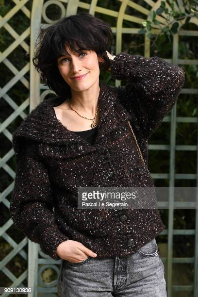 Clotilde Hesme attends the Chanel Haute Couture Spring Summer 2018 show as part of Paris Fashion Week on January 23 2018 in Paris France