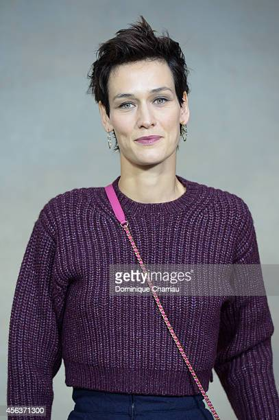 Clotilde Hesme attends the Chanel show as part of the Paris Fashion Week Womenswear Spring/Summer 2015 on September 30 2014 in Paris France