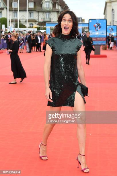 Clotilde Hesme attends the closing ceremony of the 44th Deauville American Film Festival on September 8 2018 in Deauville France