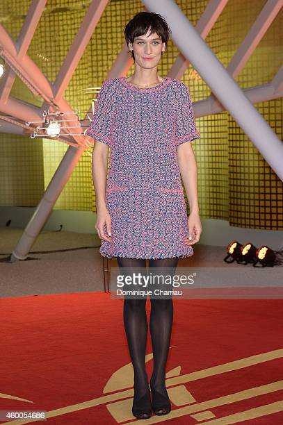 Clotilde Hesme attends the Evening Tribute To Jeremy Irons as part of the 14th Marrakech International Film Festival on December 6 2014 in Marrakech...