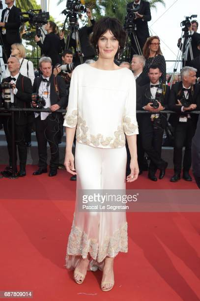 Clotilde Hesme attends the 'The Beguiled' screening during the 70th annual Cannes Film Festival at Palais des Festivals on May 24 2017 in Cannes...