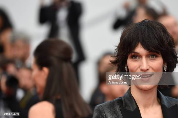 Clotilde Hesme attends the 'Twin Peaks' screening during the 70th annual Cannes Film Festival at Palais des Festivals on May 25 2017 in Cannes France