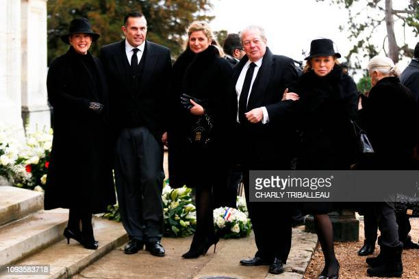 Clotilde of Orleans CharlesPhilippe of Orleans and his wife Diana Alvares Pereira de Melo Michel of Orleans and his wife Barbara de PoschPastor...