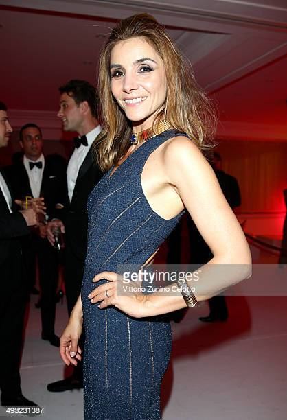 Clotilde Princess of Venice and Piedmont attends the Moncler The After Party To Benefit amfAR at Hotel du CapEdenRoc on May 22 2014 in Cap d'Antibes...