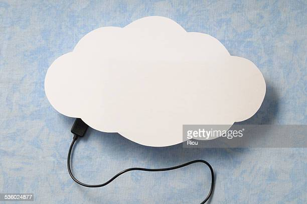 Cloud and computer connection