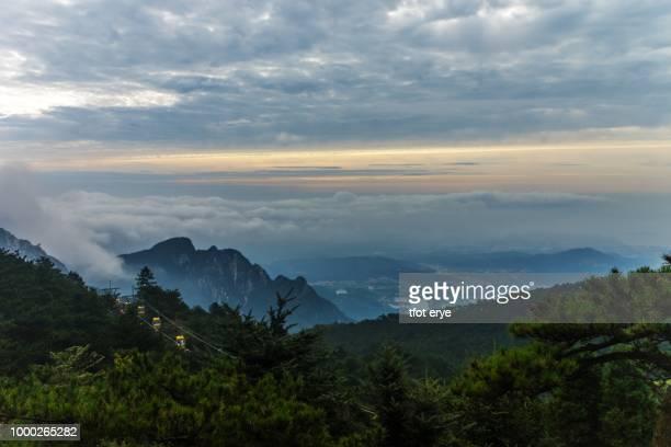 Cloud and Fog in Lushan