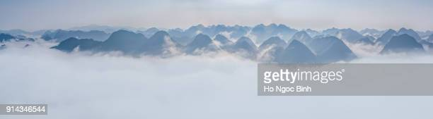 Cloud and mountain