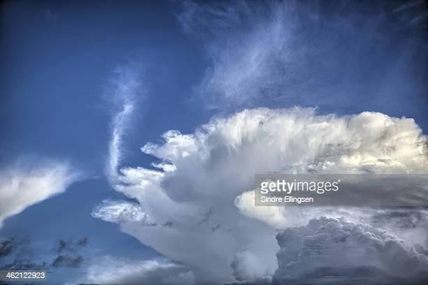Cloud building up
